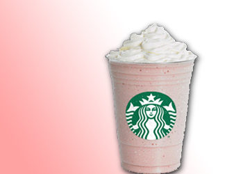Starbucks lance le Frappuccino fraises