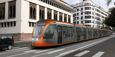 Casablanca : la 2ème ligne de tram achevée à 97%!