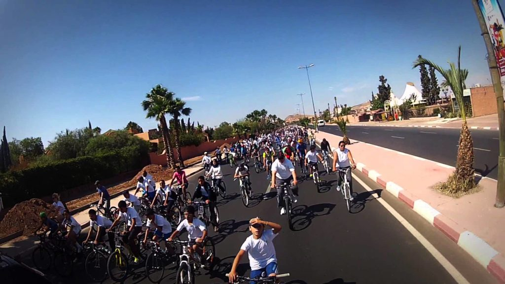 ecolo bike ride marrakech 23 mai 2016 Bien dans sa peau