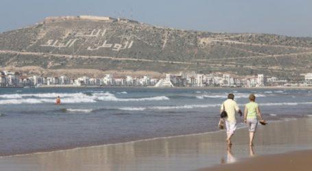 Agadir: plus d'un million de voyageurs à fin août
