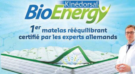 Kinédorsal BioEnergy : un matelas Bac+!