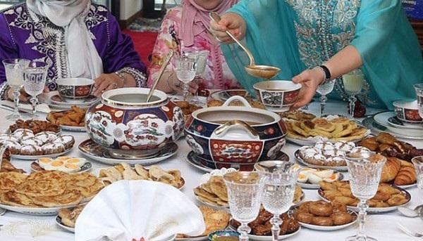 ramadan alimentaire table HCP 13 juin 2016 food boisson