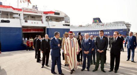 Inauguration officielle de l'AML, dernier-né des compagnies maritimes nationales