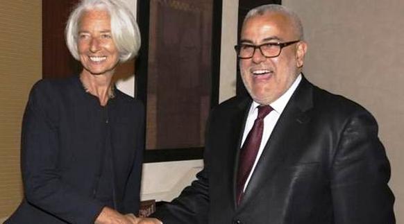 Benkirane Lagarde FMI 25 juillet 2016 Service public