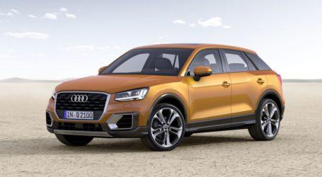 Q2 le SUV urbain d'Audi arrive