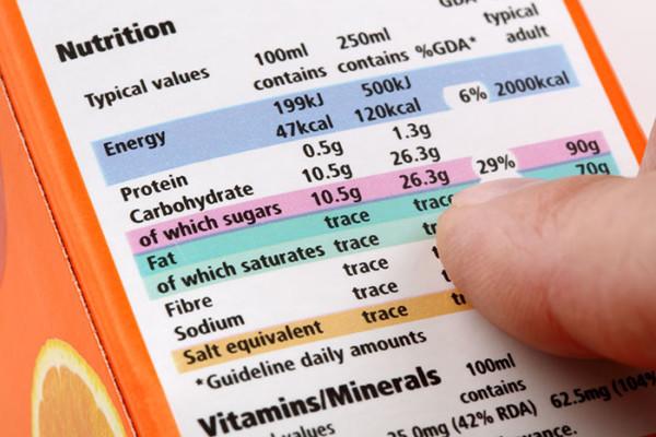 etiquette nutrition loi 8 aout 2016 Food boissons