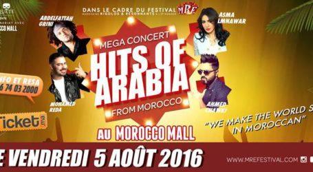 Hits Of Arabia : Ce soir au Morocco Mall