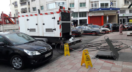 Incident électrique du 19 octobre 2016 au niveau du quartier Racine Extension