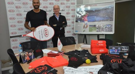 Kia Motors Bin Omeir Group soutient le tennisman marocain Mohamed SABER