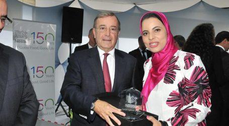 Nestlé Maroc célèbre le parcours de Khadija El Kamouny et Halim Eddahbi