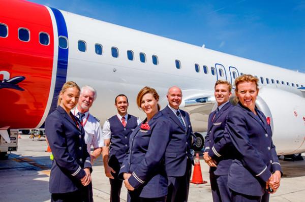 Norwegian Airlines 6 octobre 2016