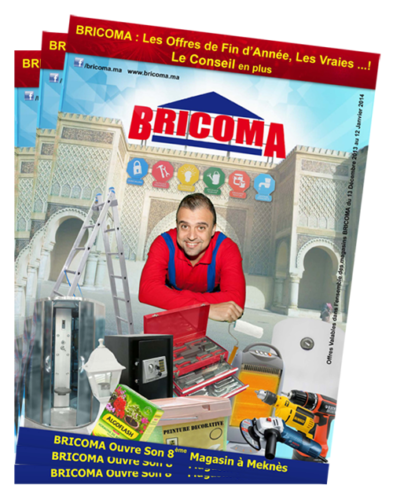 bricoma brochure catalogue promotion