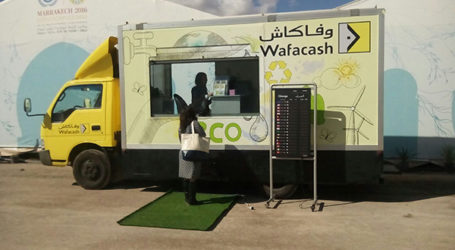 Wafacash installe à la COP22 une agence mobile 100% écologique