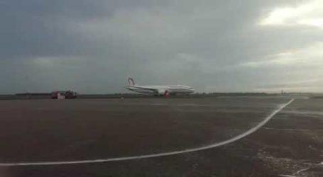 L'arrivée du 5e Dreamliner de la RAM à Casablanca