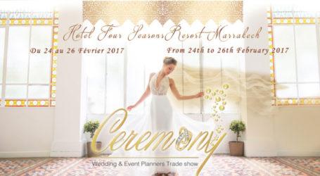 Ceremony : Un salon international du mariage à Marrakech