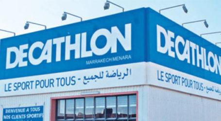 Le dernier magasin Décathlon est Oujdi