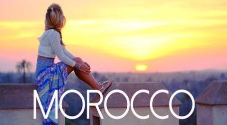 Kylie Flavell au Maroc