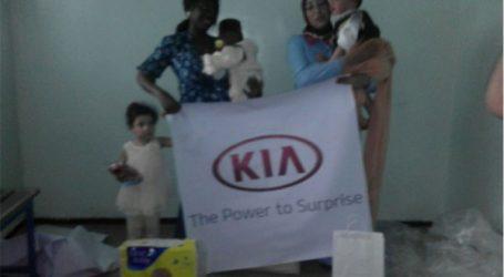 Kia et l'Association Nahdat Zenata redonnent le sourire aux familles défavorisées