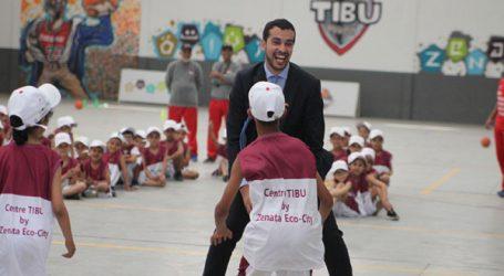 TIBU Maroc et La Marocaine des Jeux et des Sports partagent la passion du Basketball avec les jeunes des douars