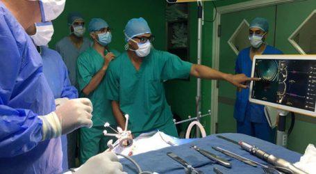 La Neuroclinique de Casablanca s'équipe d'un système de neuronavigation Kick et de biopsie stéréotaxique
