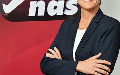 AGNES LAURENT NOMMEE DIRECTRICE GENERALE  DE NAS MAROC