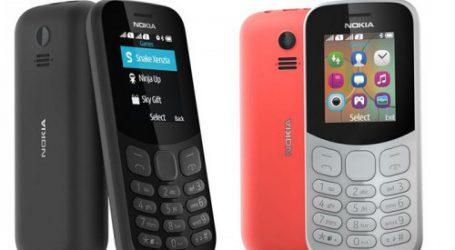 Le nouveau Nokia 105 et Nokia 130 offrent une qualité encore meilleure avec des designs de grande facture