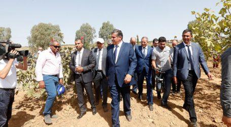 Akhannouch préside la cérémonie du lancement officiel  de la campagne agricole 2018-2019 depuis la région de Marrakech Safi