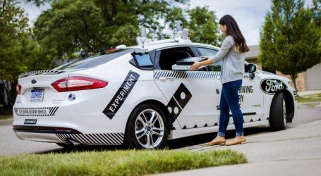 Ford et Domino's Pizza créent le «delivery sans chauffeur»