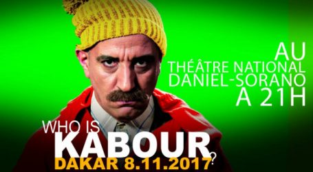 Humour: Kabour monte sur scène!