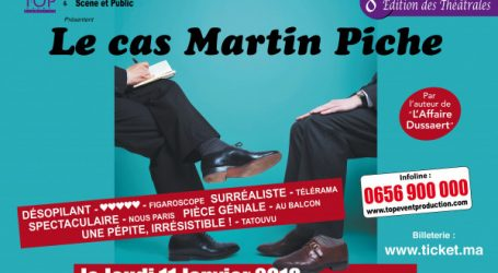 « Le Cas Martin Piche » au Mégarama le 11 janvier