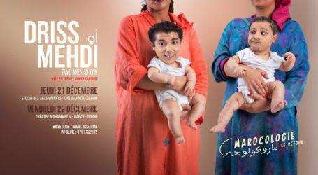 Le duo d'humoristes Driss et Mehdi sont de retour avec un nouveau spectacle, Marocologie