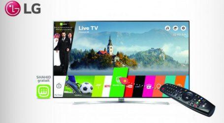 LG et MBC introduisent la VOD Shahid Plus au Maroc