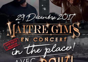 Maître Gims en concert gratuit sur la place la plus célèbre du Maroc à l'occasion de la première édition de « Stars in the Place »