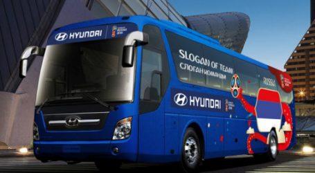 Russia 2018 : Hyundai lance » Be There With Hyundai»