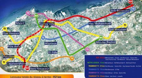 Casablanca : le projet du RER relancé