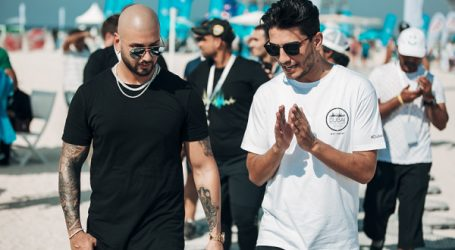 La star internationale « Massari » et la star idole arabe Mohammed Assaf lancent leur duo : « Roll With It »