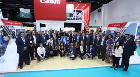 Canon présente ses nouvelles technologies de pointe dédiée à l'industrie cinématographique et à la télévision au CABSAT 2018