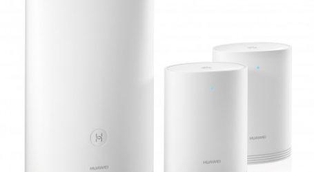Huawei présente des produits innovants au CES Las Vegas  Et gagne deux prix pour le Huawei Mate 10 Pro et le HUAWEI WiFi Q2 Series