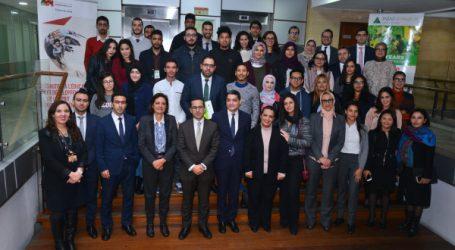 Lancement de la 4e promotion du programme SMART START de l'Association INJAZ Al-Maghrib en partenariat avec le groupe Attijariwafa bank