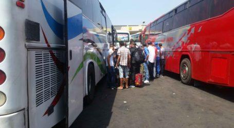 Transport de voyageurs: le trafic reprend petit à petit