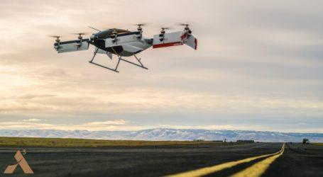 Vahana, l'ADAV électrique autonome d'A³ by Airbus, réalise avec succès son premier vol d'essai