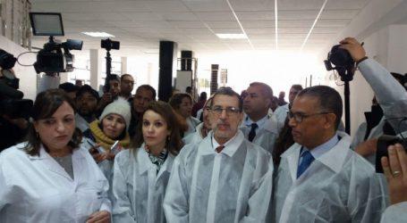 visite d'information aux  installations de production d'eau potable à partir du Barrage Sidi Mohammed Ben Abdellah