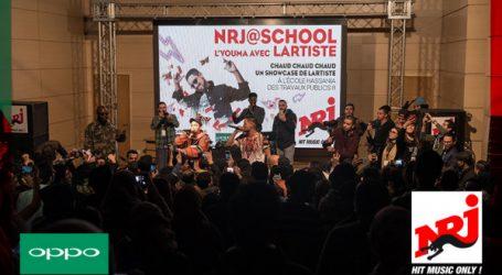 Oppo partenaire de NRJ@school