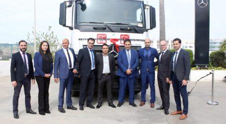 Signature d'un partenariat strategique entre Mercedes-Benz Trucks Maroc et BIM