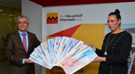 Attijariwafa bank dévoile la gagnante de la grande tombola MRE avec à la clé « 10 ans de vacances au Maroc »