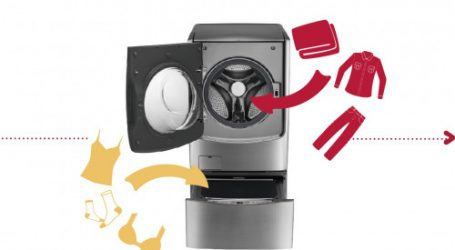 LG révolutionne le monde de la lessive avec sa nouvelle machine à laver « Twin Wash »