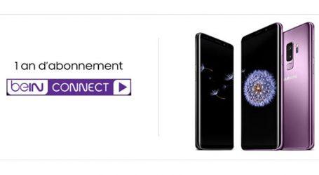 Samsung Galaxy S9 et S9 + : Jusqu'au 11 Mars précommandez votre Galaxy S9 ou S9+ et repartez avec 1 an d'abonnement Bein connect