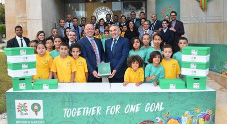 adidas football révèle les nouveaux kits de la Fédération Royale Marocaine du Football pour la Coupe du Monde de la FIFA, qui se tiendra en Russie en 2018