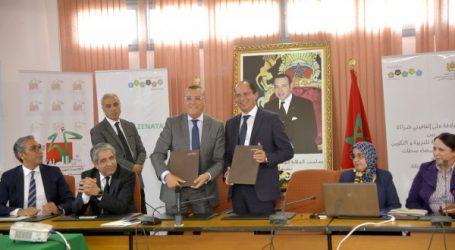La Société d'Aménagement Zenata signe deux conventions avec l'Académie Régionale de l'Education et de la Formation de Casablanca
