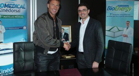 Partenariat entre DOLIDOL et Hervé RENARD